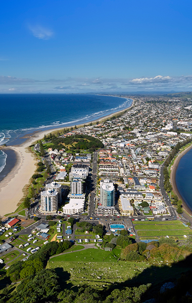 Mt Maunganui is a great place to live while working for Surveying Services